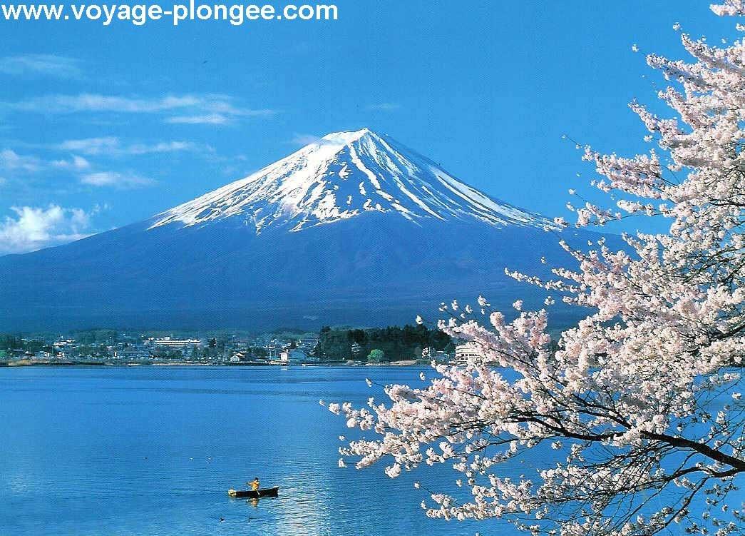 le mont Fujy, fujyama en japonais